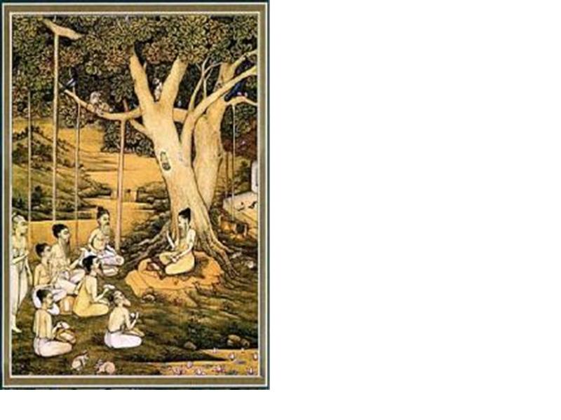 Un peu d'histoire : les traditions savantes indiennes